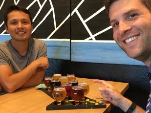 Beer at Homes Brewery