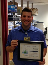 Will with our platinum level sustainable lab certification