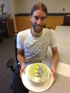 """Matt's """"Metal"""" Birthday Cake"""